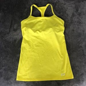 Cute Yellow Under Armour Work our top